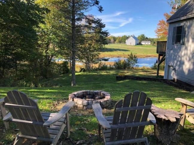 797 Bristol Road, Bristol, Maine, Newcastle Realty, Fire Pit, Views