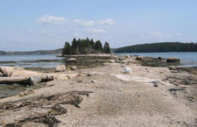 Boothbay shoreline, land trust