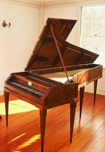 Kennebec Early Music Festival fortepiano
