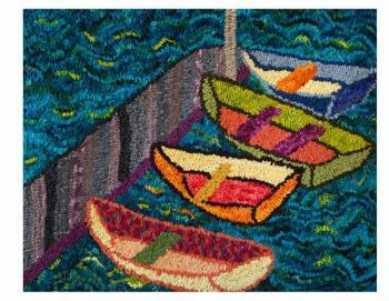 "Elaine Eskesen, ""Rowboats."""