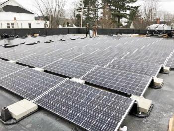 Cheney insurance revision energy solar project Damariscotta