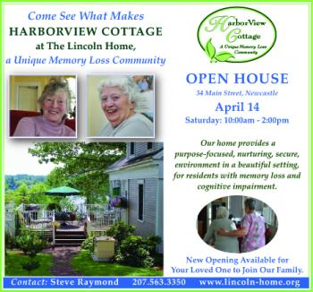 Harborview Cottage Lincoln Home Memory Loss Community Open House April 14