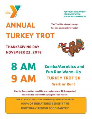 Annual Community Turkey Trot at the Y!