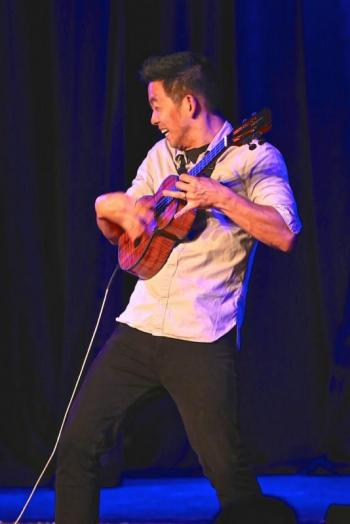 Jake Shimabukuro at the Boothbay Harbor Opera House 2019 - Robert Mitchell photo