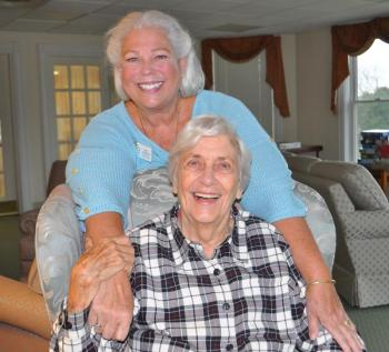 Best Friends Approach at Lincoln Home Assisted Living Harbor View Cottage Memory Loss Community