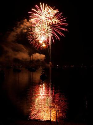 Windjammer Days Fireworks