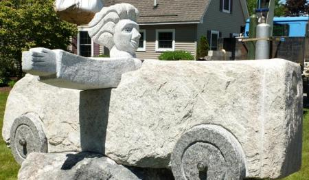 William Royall, Southport, ME stone sculptor