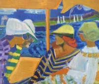 """Dorothy Eisner """"Boat Trip II"""""""