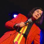 Paula Poundstone, Robert Mitchell photo