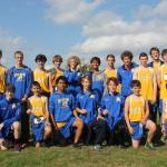 Photo of BRHS cross country team