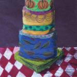 Zoe Eason's oil pastel