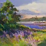 """Round Pond Lupines,"" R. Noreika"