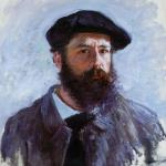 Claude Monet, self portrait, 1886