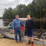 Don Dudley, Matagamon Lake, brook trout, Boothbay Register, Jeff Wells
