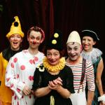 Happenstance Theater clowns