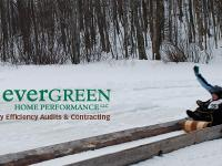 Toboggan Championships | Evergreen Home Performance | Maine