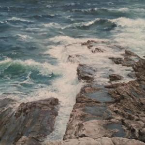 Sandy Harper, Maine artist