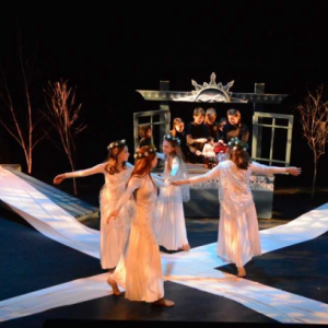 "Heartwood Theater's ""The Snow Maiden"" 2019 - Jenny Mayher photo"