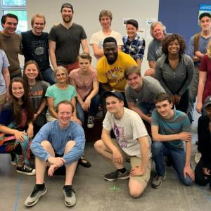 "Heartwood Regional Theater Co. cast of ""Big River: The Adventures of Huckleberry Finn"""
