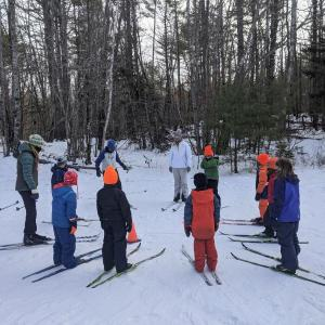 Hidden Valley Nature Center ski class
