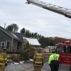 Edgecomb, pool house, fire, mutual aid