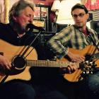 The Boothbay Pickers Noel Arrington and Gabe Tonon