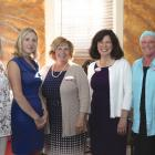 New Hope For Women staff with Ann LePage  Robert Mitchell photo