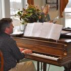 Sean Fleming performs at The Lincoln Home
