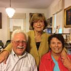 Laura Honey with Jim and Linda Metcalf