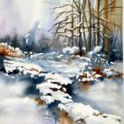 """Peggy Farrell """"Frozen Stream"""""""